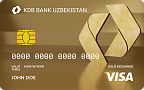 """Visa Gold Euro Exchange"" kartasi"